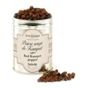 Poivre rouge de Kampot - Pot 50g
