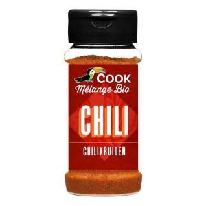 Mélange d'épices pour Chili bio - Flacon 35g