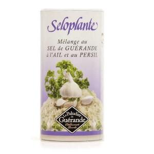 Séloplante - sel de Guérande à l'ail et au persil - la boîte verseuse de 250g