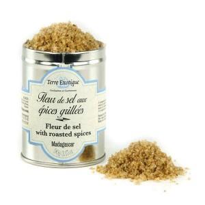 Fleur de sel aux épices grillées - Pot 90g