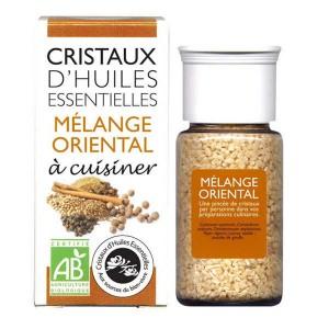 Mélange oriental - Cristaux d'huiles essentielles à cuisiner - Bio - Flacon 10gr