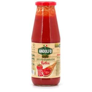 Purée de tomates rustiques - Passada di pomodoro rustica - Bocal 680g