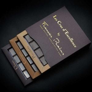 Coffret découverte 3 crus prestige - Pralus - Coffret 150g