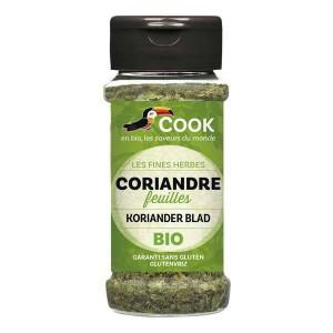 Feuilles de coriandre déshydratées bio - Flacon 15g