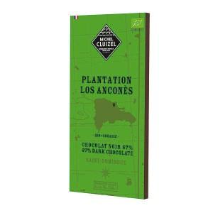 Tablette de chocolat noir de plantation - Los Anconès 67% bio - Tablette 70g