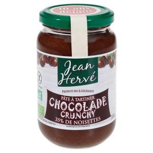 La Chocolade crunchy  - Pâte à tartiner bio - Pot 350g