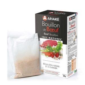 Bouillon de boeuf - Ariaké - 5 sachets de 2L