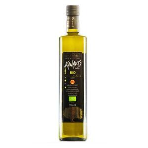 Huile d'olive bio grecque - Kanakis - Bouteille 75cl