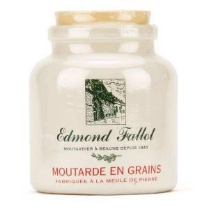 Moutarde en grains en pot de grès - Pot 250g