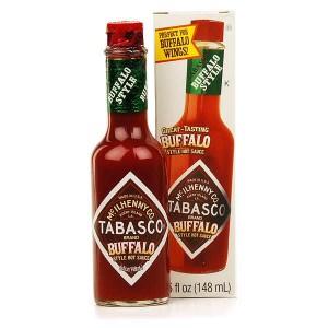 Tabasco Buffalo - sauce piquante - Bouteille 147ml
