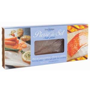 Pierre de sel pour cuisson et présentation - Pierre 1.2kg