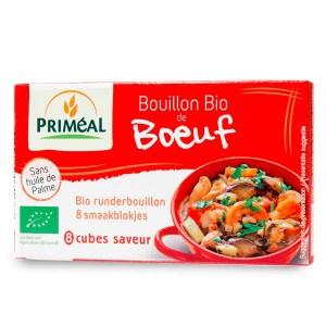 Bouillon de boeuf bio - Boite 80g - 8 bouillons