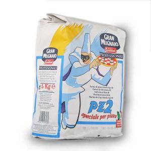 Farine italienne PZ2 (levage 4-6h) pour pizza - Paquet 1kg