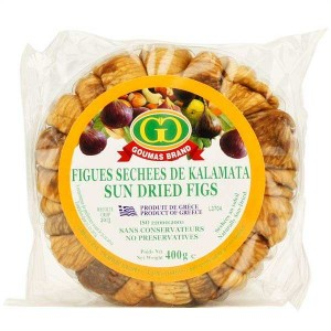 Figues séchées au soleil grecques - en couronne - Boite 400g