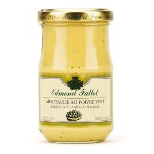 Moutarde au poivre vert - Bocal 210g