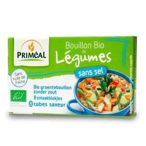 Bouillon de légumes sans sel bio - Boite 72g - 8 bouillons