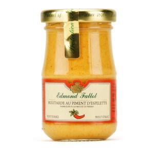 Moutarde au piment d'Espelette - Pot 105g