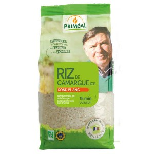 Riz rond blanc de Camargue Bio - Sachet 1kg
