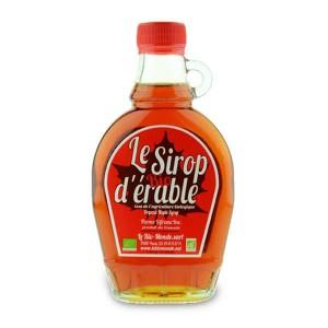 Sirop d'érable bio du Canada - Bouteille 25cl
