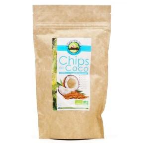 Chips de coco bio & équitable - Boite 90g