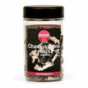 Champignons noirs séchés - Bocal PET 30g