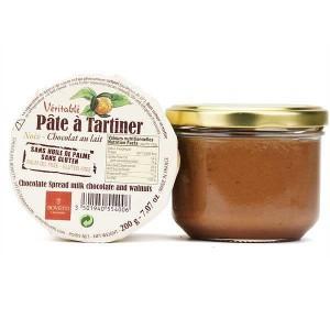 Véritable pâte à tartiner chocolat au lait et noix sans huile de palme - Pot 200g