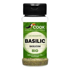 Basilic feuilles bio - Flacon15g