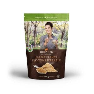 Flocons d'érable bio (sucre d'érable en flakes) - Sachet 170g