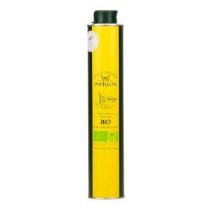 Huile d'olive vierge extra bio Arbequine - Bouteille 50cl