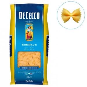 Farfalle n°93 De Cecco - Sachet 500g