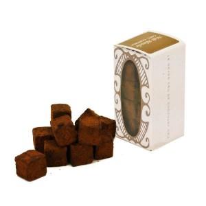 Cubes de chocolat cru au café et au guarana - Etui 55g
