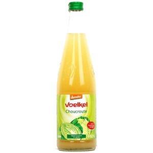 Jus de choucroute lacto fermenté bio - Bouteille Elopak 50cl
