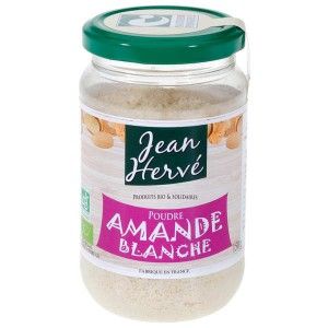 Poudre d'amande blanche bio - Pot 300g