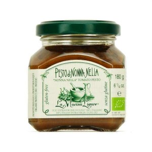 Pesto rouge bio aux tomates fraîches de Ligurie - Pot 180g