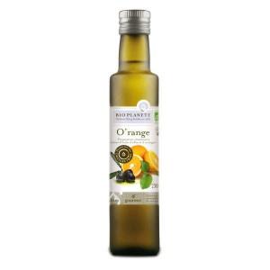 Huile d'olive et orange O'range bio - Bouteille 25cl