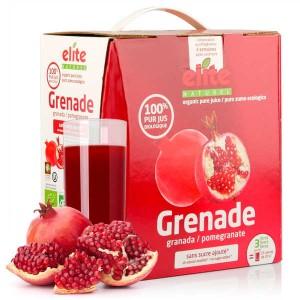 Pur jus de grenade bio en bag in box 3L - Bag in box de 3L