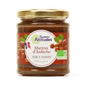 Crème de marron d'Ardèche bio - Pot 220g