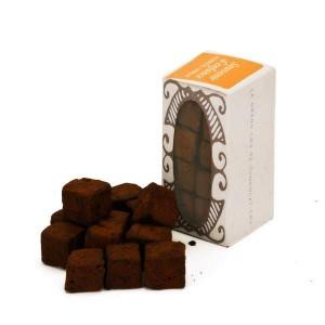 Cubes de chocolat cru à la noisette et à la vanille - Etui 55g