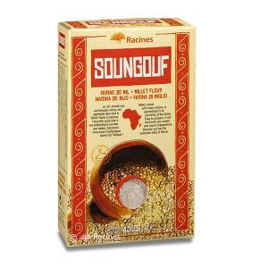 Soungouf - farine de mil - Boite 450g