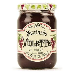 Moutarde violette de Brive - Pot 200g