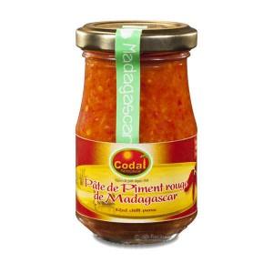 Pâte de piment rouge de Madagascar - Bocal 100g