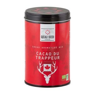 Cacao du trappeur bio parfumé à la cranberry - Boite 250g