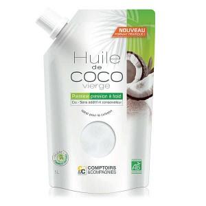 Huile de coco vierge bio - Doypack 25cl