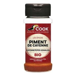 Piment de Cayenne moulu bio - Pot 40g