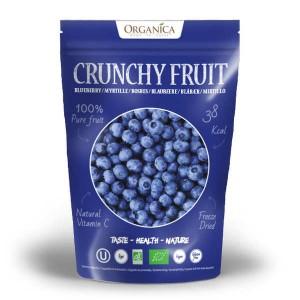 Crunchy fruit - myrtille sauvage lyophilisée bio - Sachet 16g