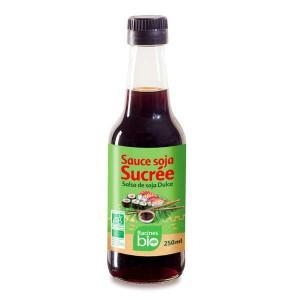 Sauce soja sucrée bio - Bouteille 250ml