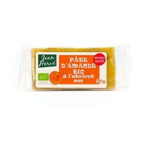 Pâte d'amande aux abricots secs - bio - Barre 50g