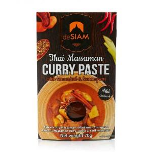 Pâte de curry massaman thaï - Sachet 70g