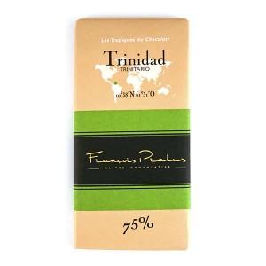 Tablette chocolat noir Trinidad - Trinitario 75% - Tablette 100g