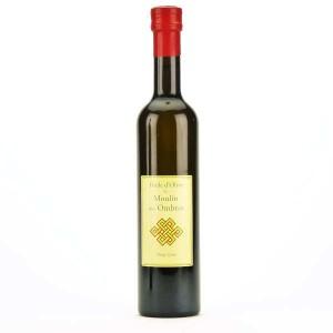 Huile d'olive bio vierge extra Moulin des Ombres - Bouteille 50cl
